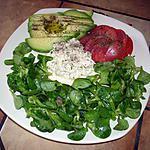 recette petite salade pour faire venir le soleil