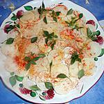 recette Carpaccio de radis noir