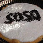 recette Tarte au chocolat et mousse de cOco