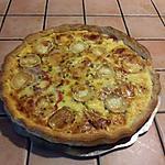 recette Tarte salée à la tomate et au fromage de chèvre