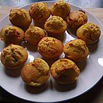 petits cakes à l'orange
