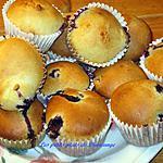 recette Muffins aux bleuets 2