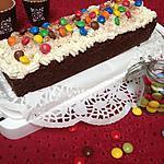 recette Cake tout chocolat et sa creme vanille