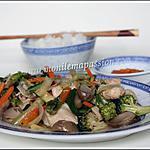 recette Shop suey de légumes au poulet