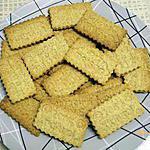 recette biscuit au blé semi-complet