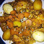 Riz facon tlitli algerien