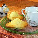 recette Madeleines faciles plusieurs variantes : fruits confits, noisette de nutella...