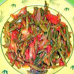 recette haricots verts à l'italienne