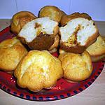 """recette muffins """"coeur à la crème de spéculoos"""""""