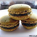 recette Macarons ganache à la pistache