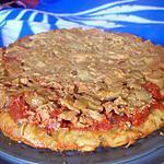recette PIZZA TATIN COTT sans lait ni oeuf  ou pizza façon tatin