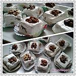 recette Jawzia, djouzia, nougat aux noix de constantine
