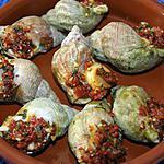 recette Bulots gratinés au beurre persillé au chorizo