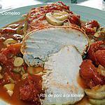 recette Rôti de porc à la tomate