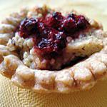 recette Mini tartelettes aux amandes, à la noisette et aux groseilles