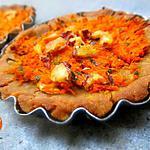 recette Tartelettes aux carottes et châtaignes {sans gluten}