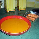 recette Soupe de lentilles corail au lait de coco