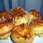 """recette muffin """"coeur craquant caramélisé"""""""