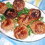 recette Boulettes de porc cuit