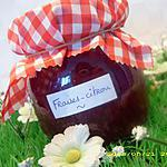 confiture de fraises et zestes de citron