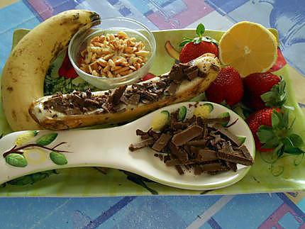 Banana split sans glace sans chantilly 430