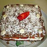 recette Moelleux chocolat noir et blanc