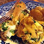 recette Chou-fleur au poulet au four