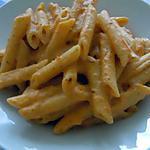recette penne a la tomate fraîche et crème fraîche