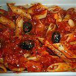 recette Penne au basilic & tomates