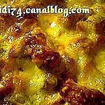 recette gratin d'aubergine à la tomate et ricotta
