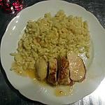 recette Filet de poulet laqué au jus (au micro-onde)