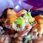 recette plat au brocoli, cheddar, pâtes et reste de viande. (4)
