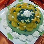 recette Gâteau au chocolat et mandarines. sans cuisson.