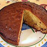 recette Gâteau au rhum et aux raisins secs