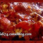 recette Gratin de pâtes façon chili con carne