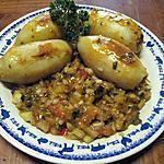 recette Calamars farcis aux légumes de Provence.