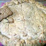 recette Gâteau basque aux spéculoos