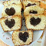 recette Cake au yaourt au coeur chocolat