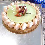recette Tarte Abricot Pistache Cannelle.