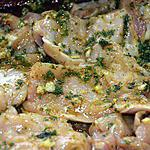 recette Marinade de blanc de poulet pour plancha ou autre