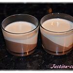 recette Panna cotta citron/chocolat
