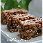 recette ~Barres aux courgettes et aux dattes~