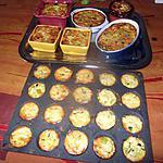 recette flan de courgettes au camenbert de nathalie la serviette