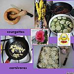 recette courgettes carnivores qui ne mordent pas
