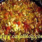 recette Courgettes et tomates à la sauce chypriote