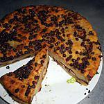 recette Pudding aux poires et pépites de chocolat