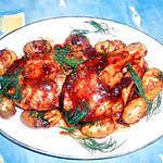 recette Darne de saumon grillée sauce barbecue