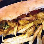 recette sandwich grec 100/100 maison