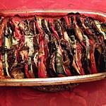 recette Tian de légumes au roquefort et romarin