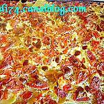 recette Tarte à la saucisse de morteau, pommes de terre et sauce gorgonzola